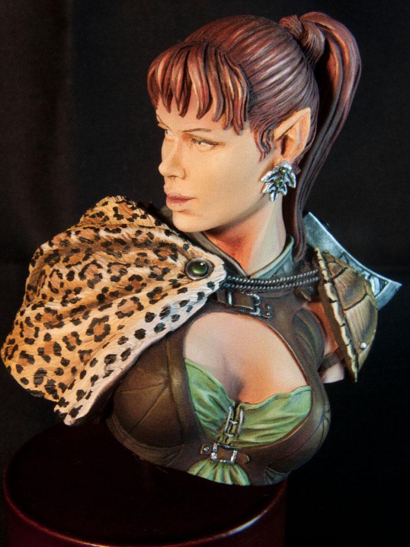 Chasseresse Elfe [buste Pegaso] - Page 2 BD_ElfHuntress_29